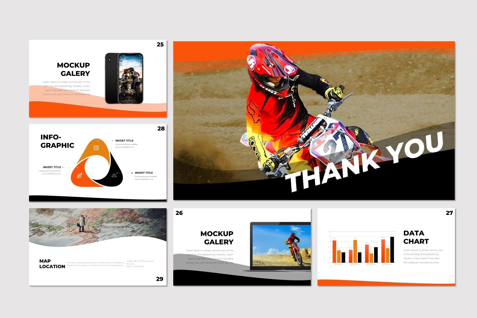 Scramble - Keynote Template example image 5
