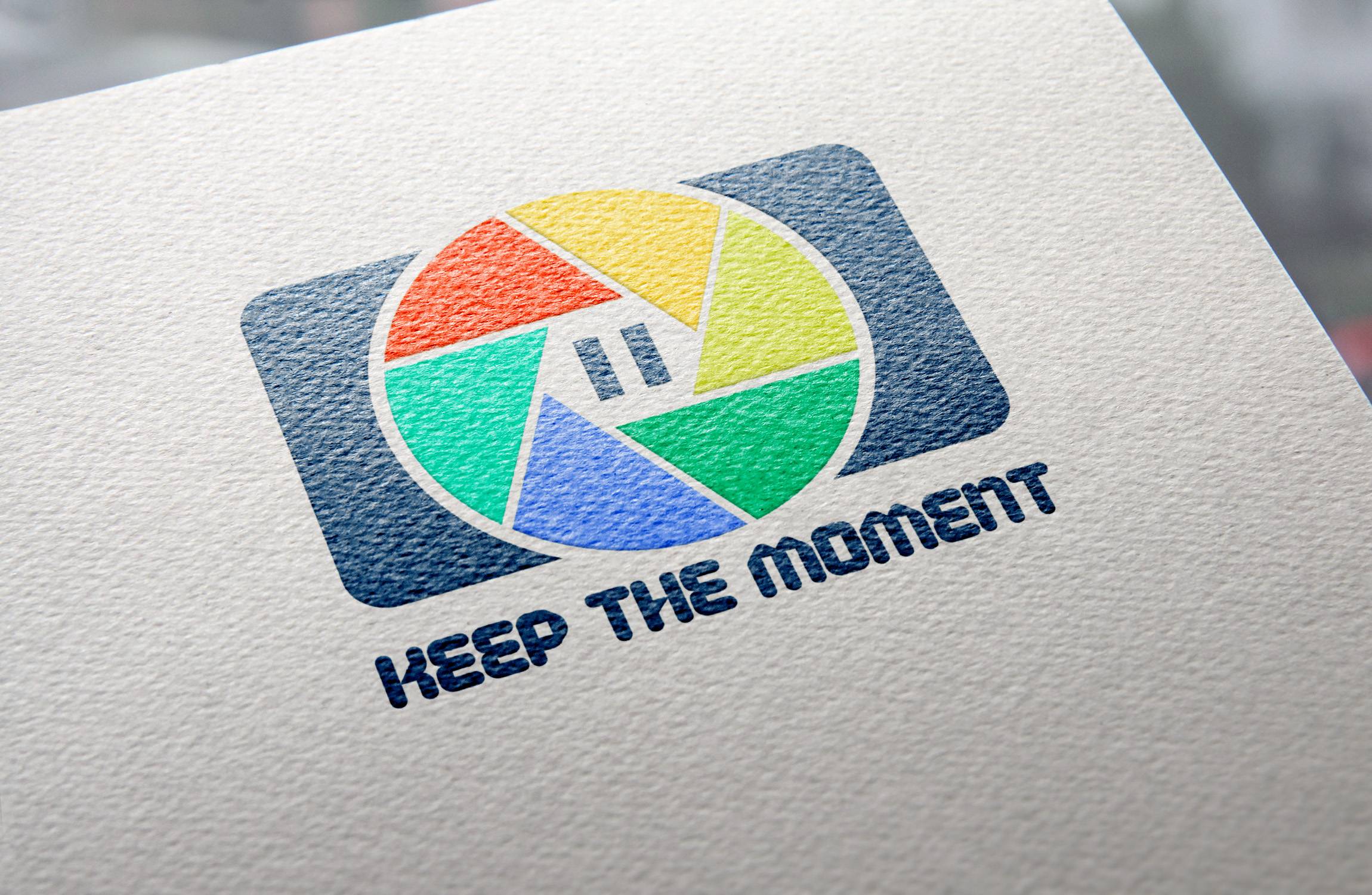 Keep The Moment Logo Template example image 1