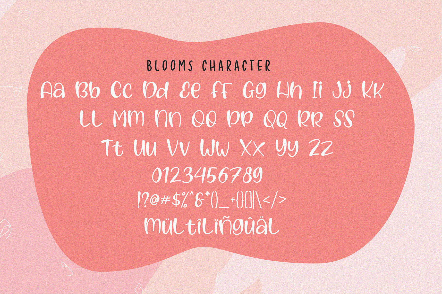 Blooms - Quirky Font example image 4