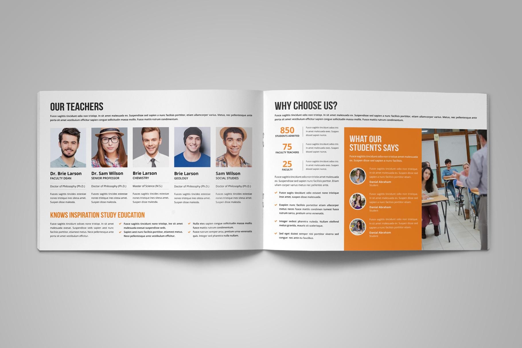 Education Prospectus Brochure v8 example image 6