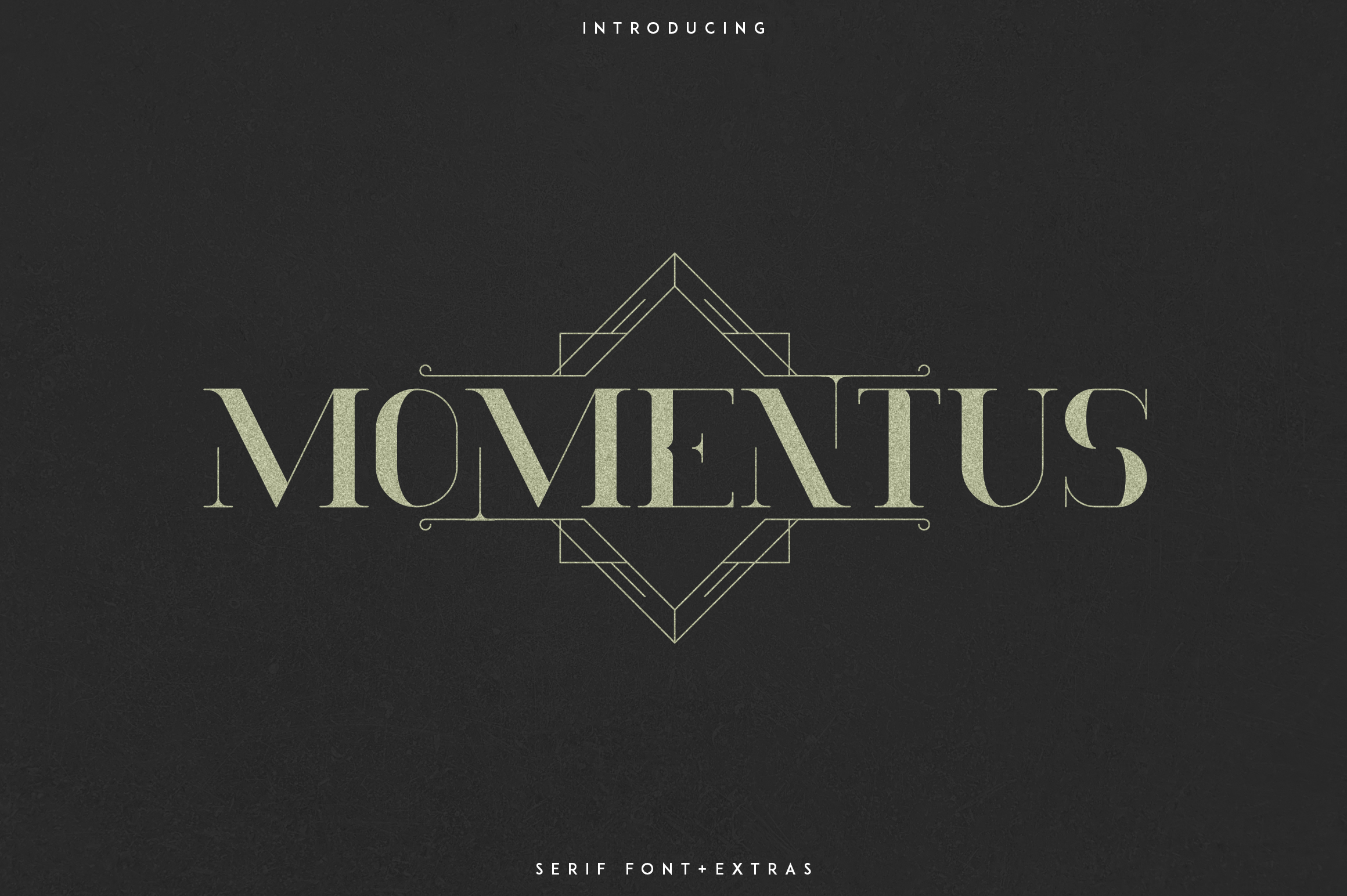Momentus serif font-Extras example image 1
