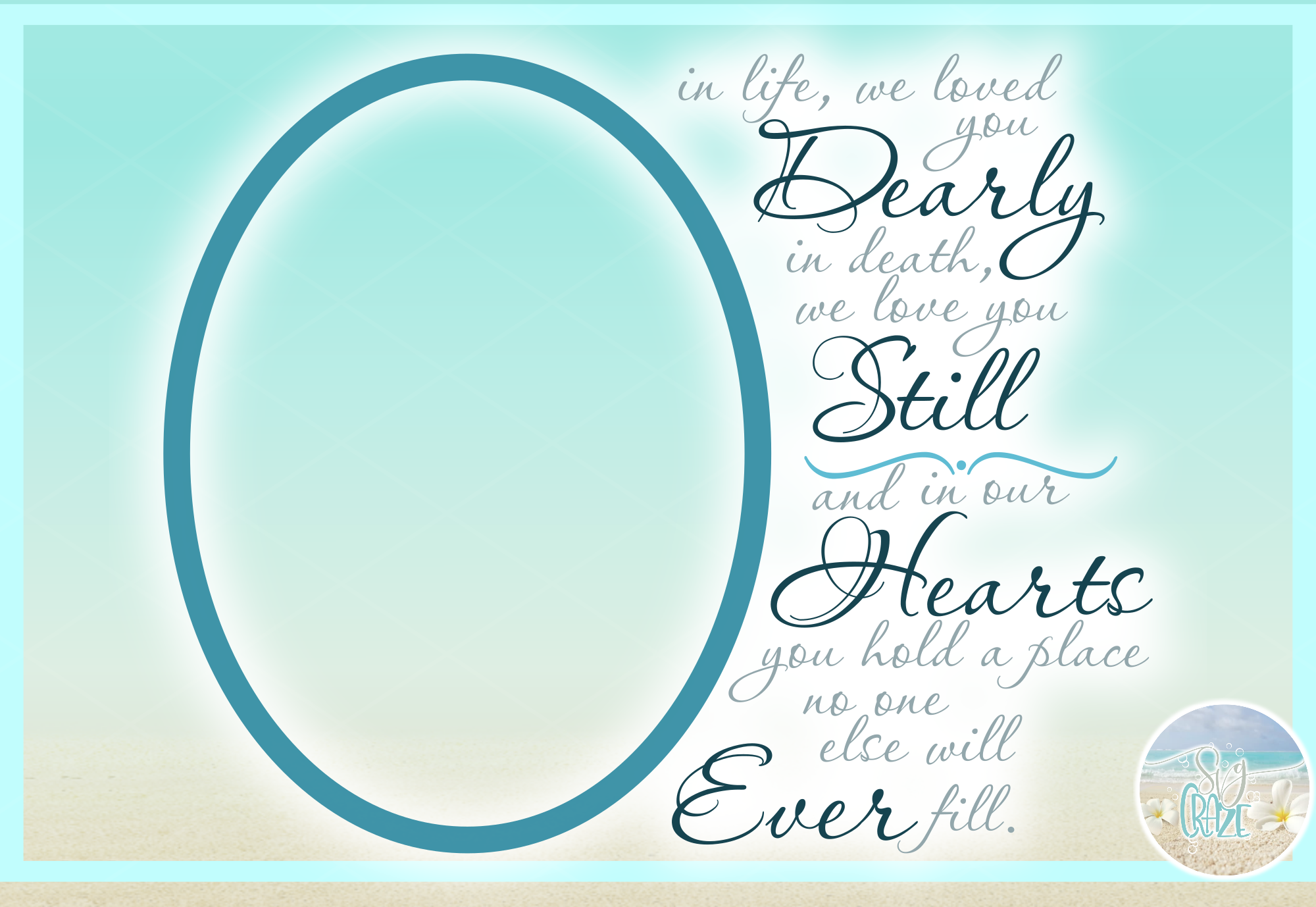 In Loving Memory Memorial Quote Bundle SVG DXF EPS PNG PDF example image 9