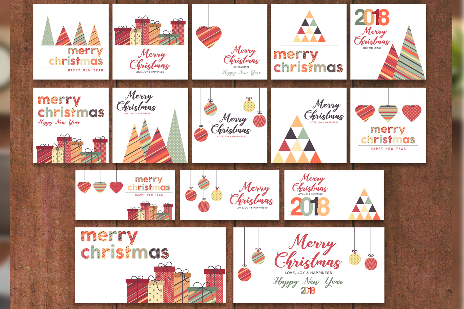Christmas Greeting Cards & Posters example image 2