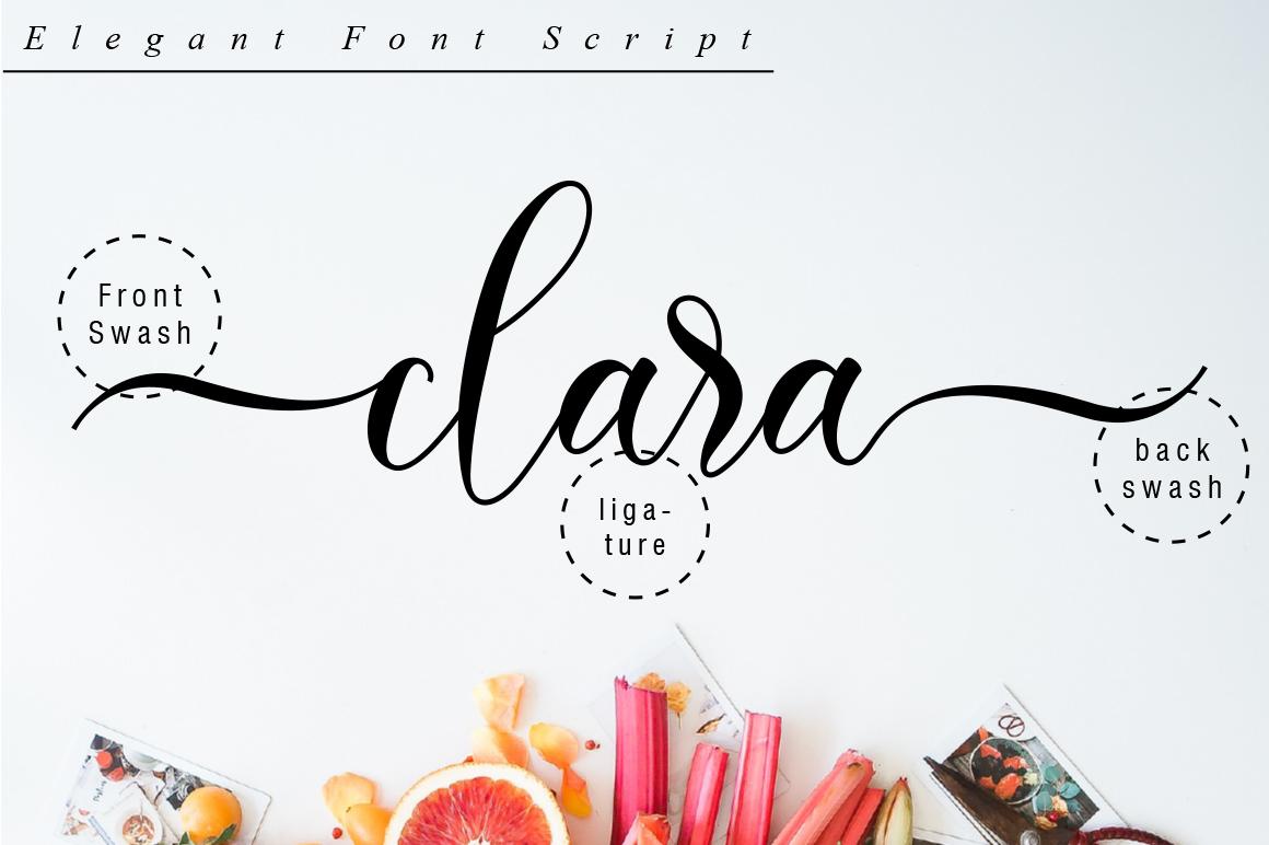 Clara Script example image 10