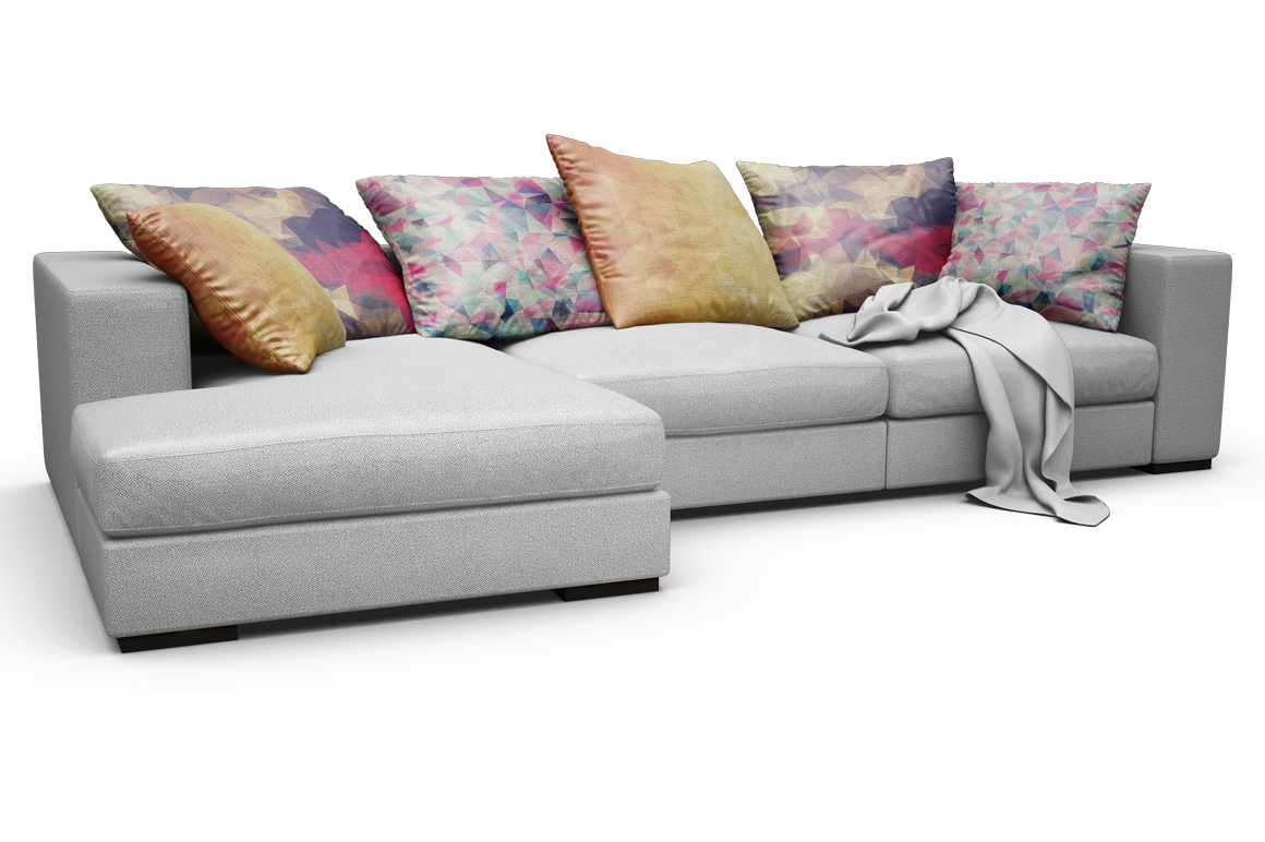 Sofa-Pillows Mockup example image 8