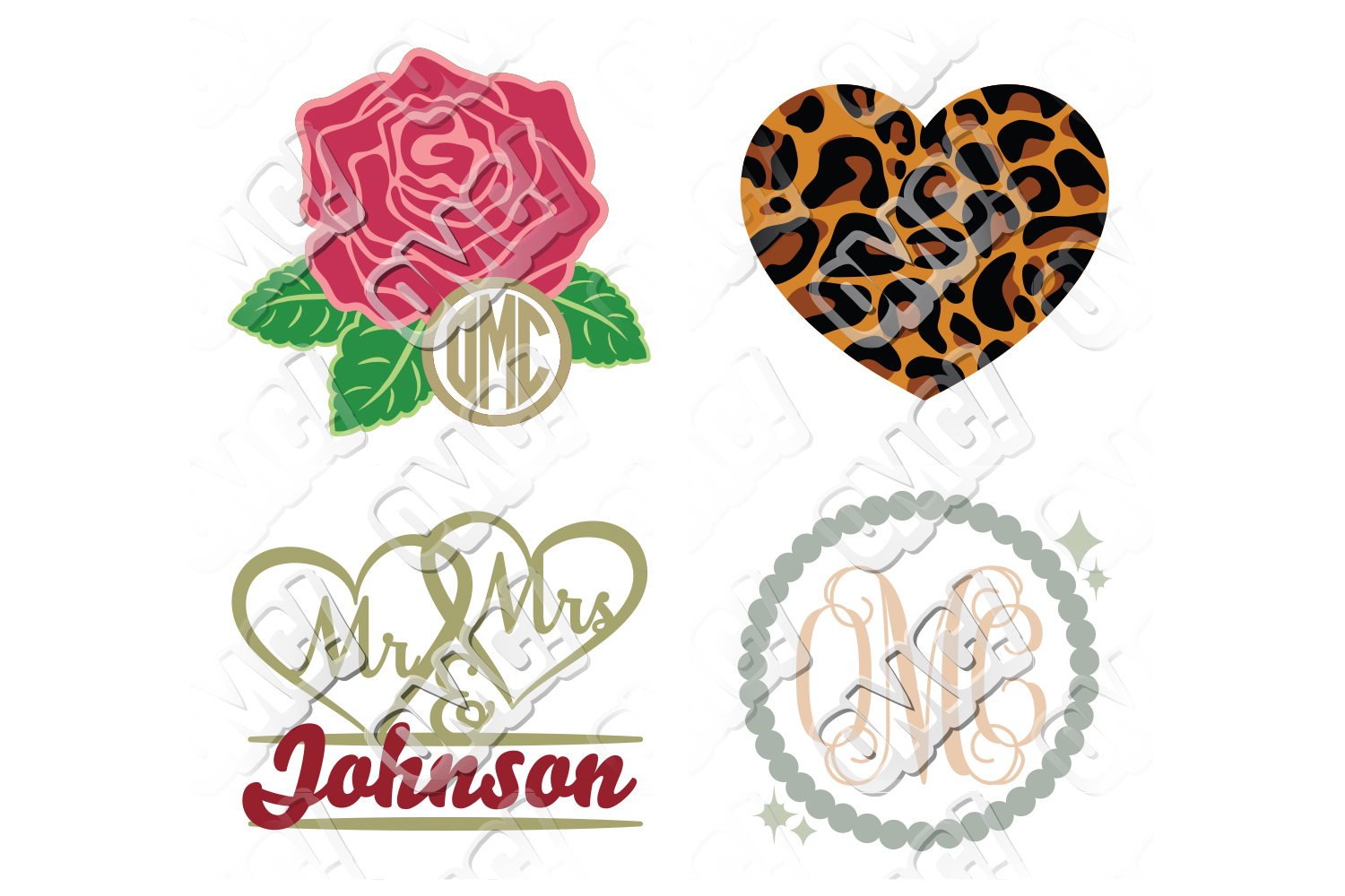 Wedding SVG Bundle example image 4