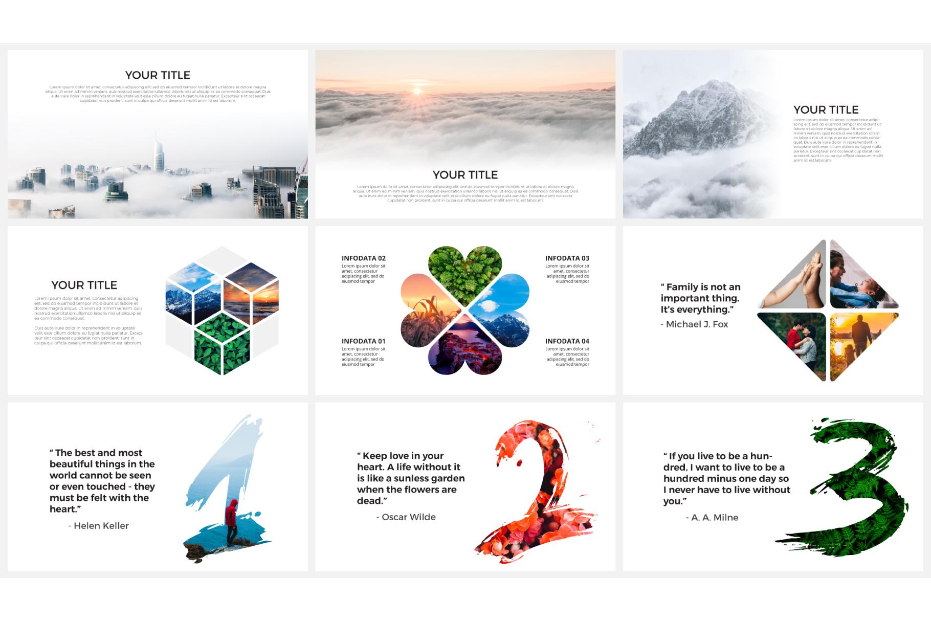 Photo slides presentations example image 8