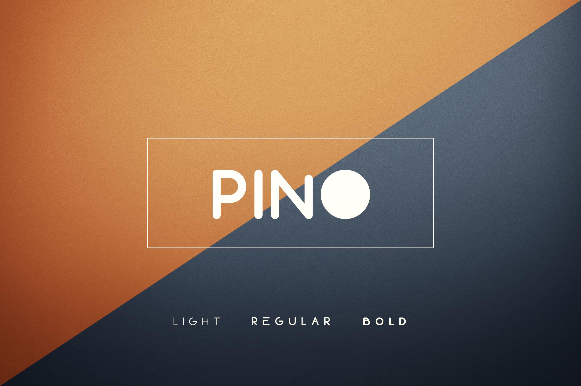 Pino Font example image 1
