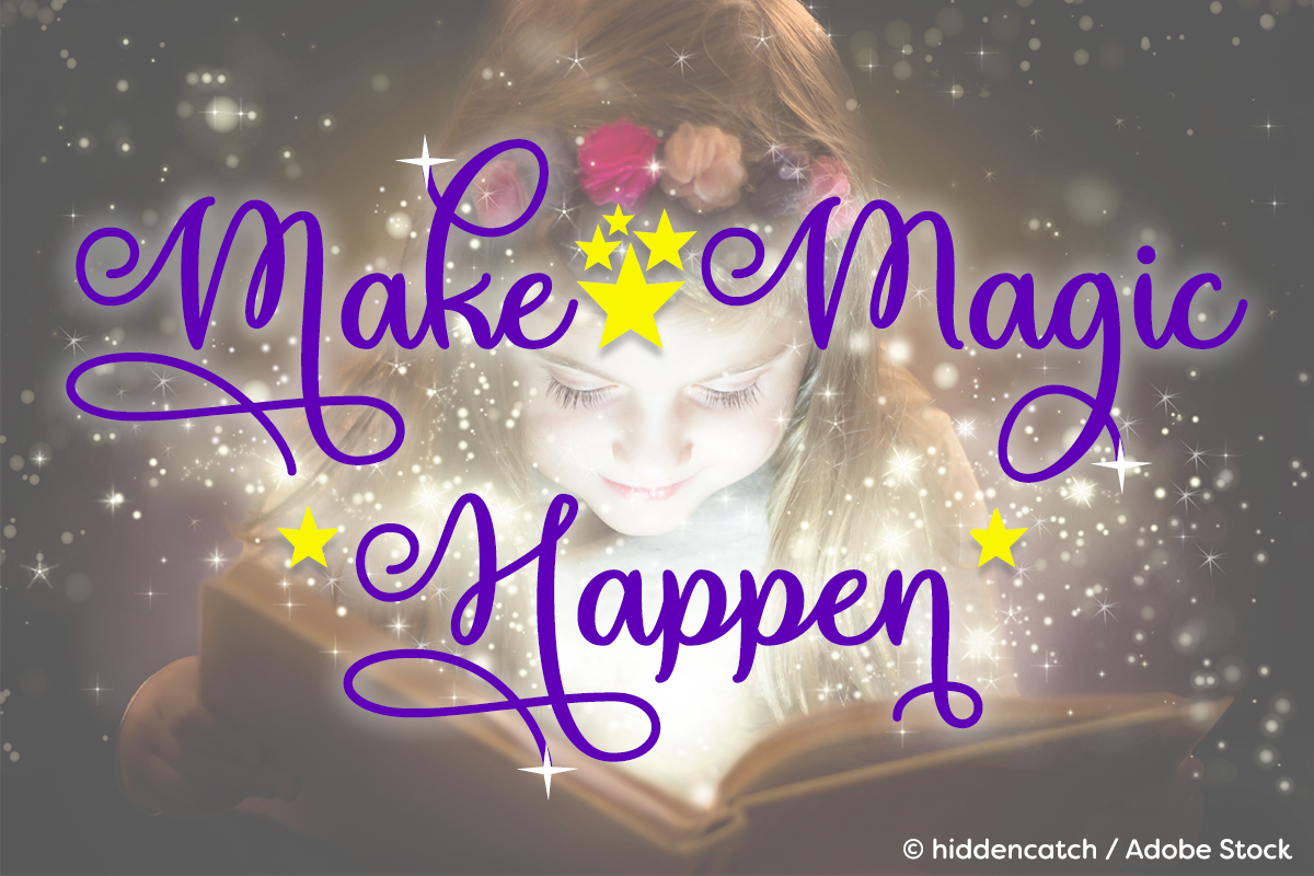 Make Magic Happen example image 1