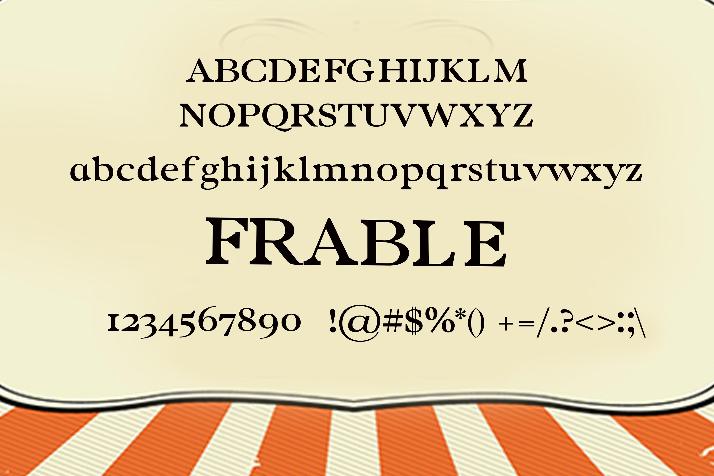 150 Premium Vintage Fonts example image 24