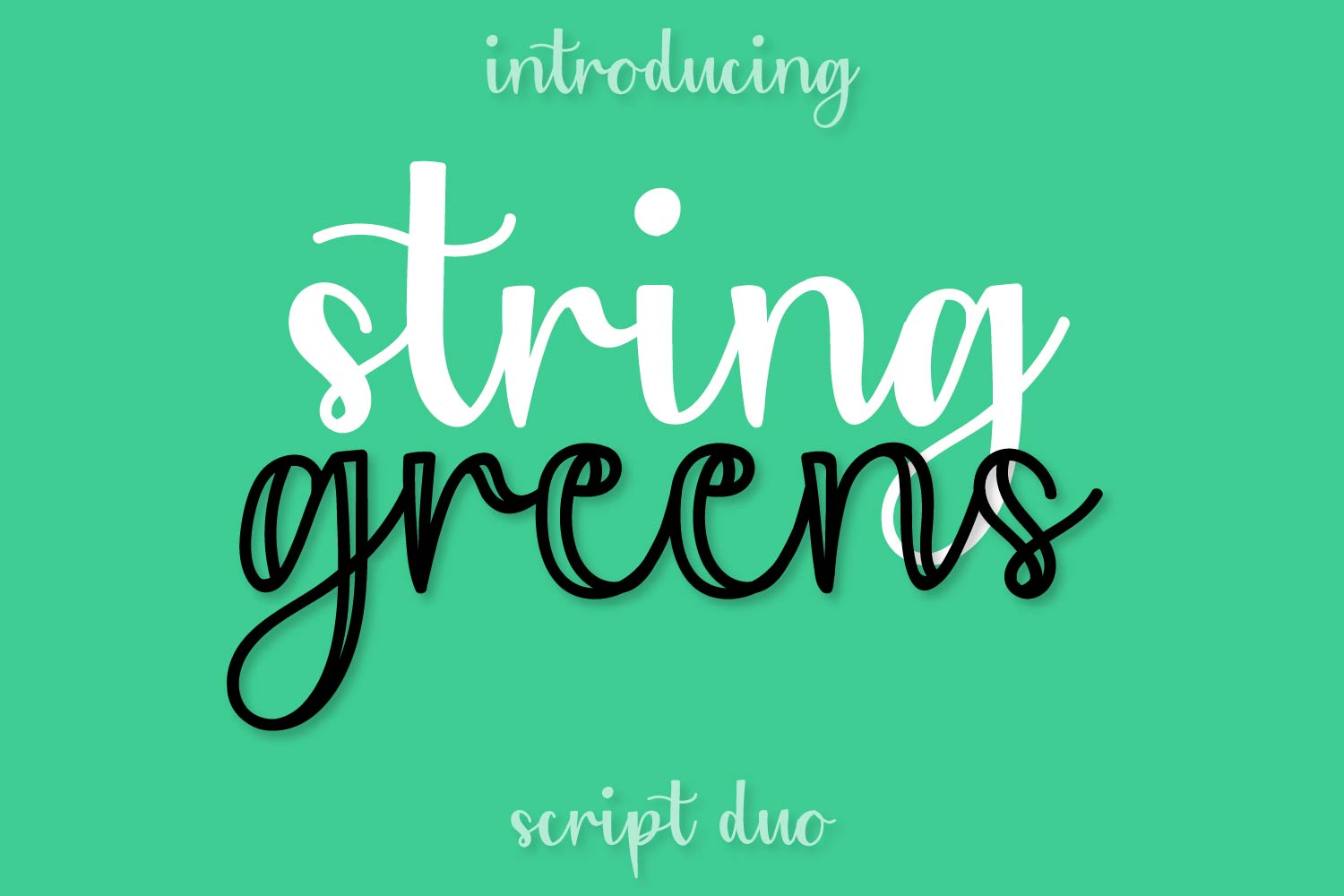 Bundle of 20 Craft Friendly Fonts! example image 2