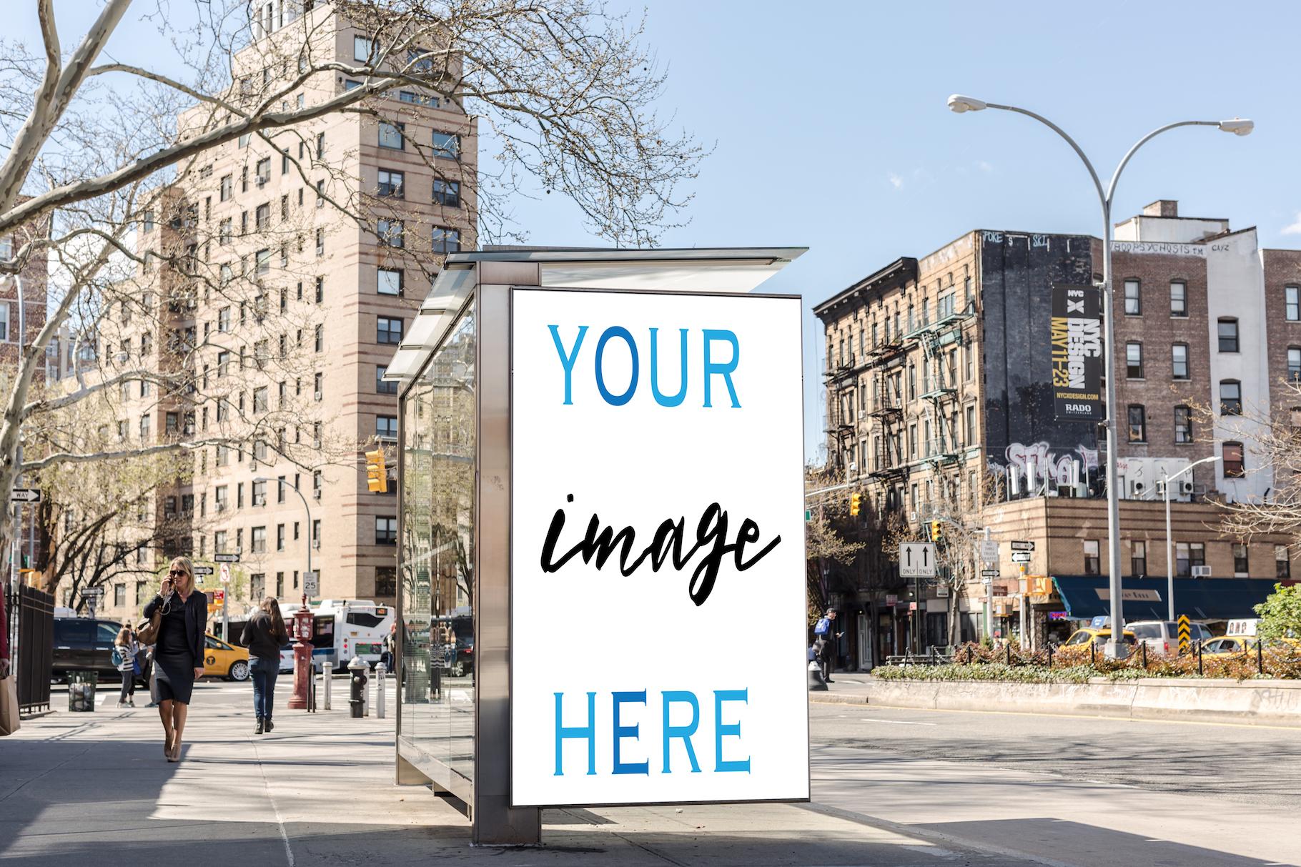 Set of 11 advertising billboard example image 9
