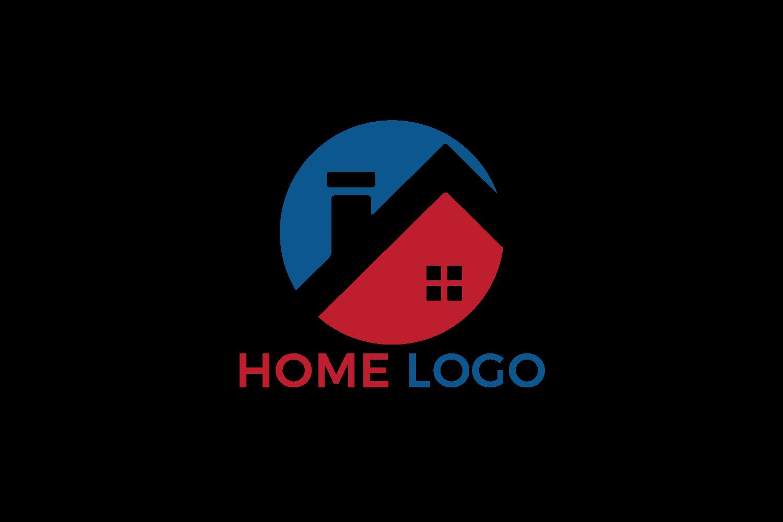 Home vector logo design. Creative Real Estate logo design. example image 2