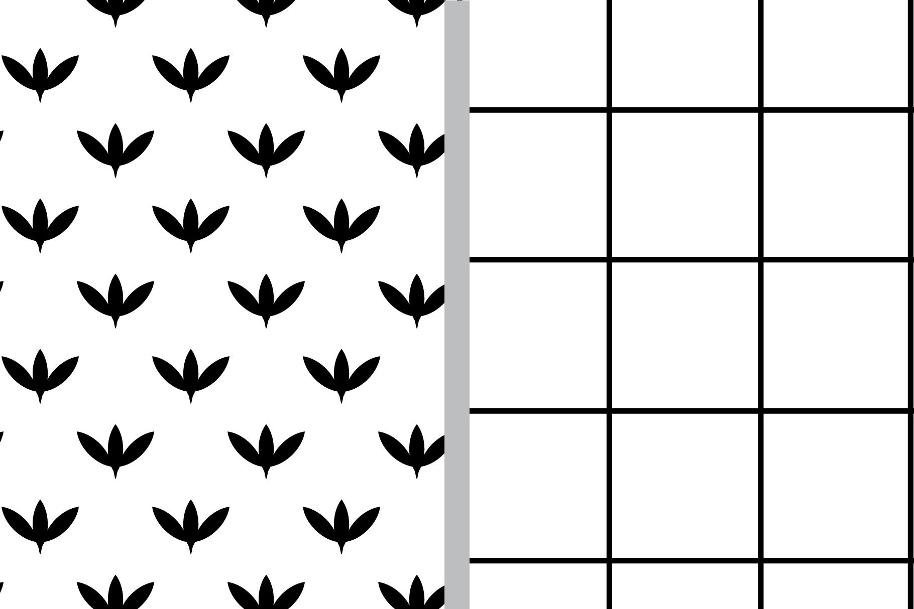 Black and White Seamless Patterns example image 4