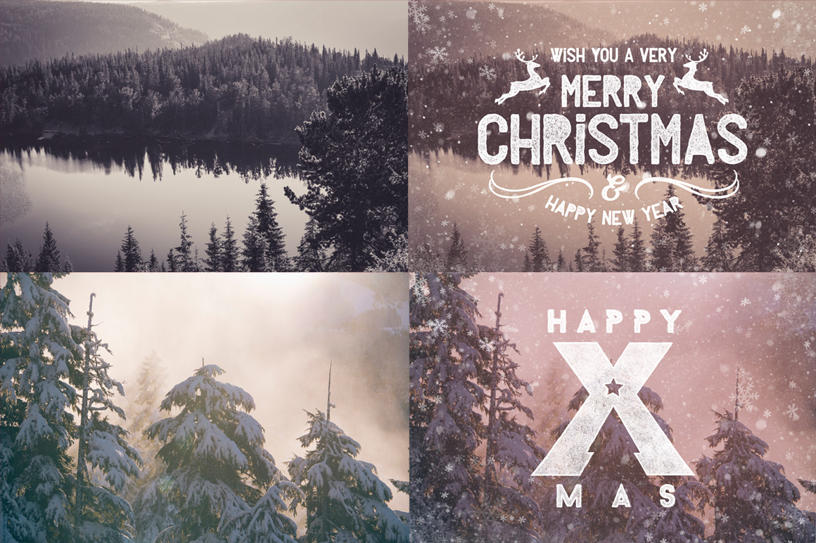 Christmas Photo Overlays example image 2