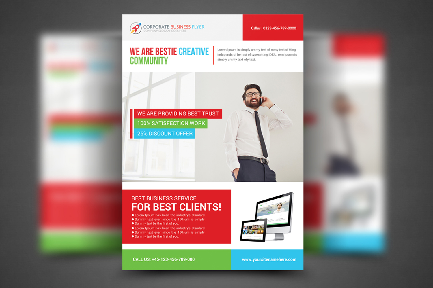 Professional Business Flyer example image 1