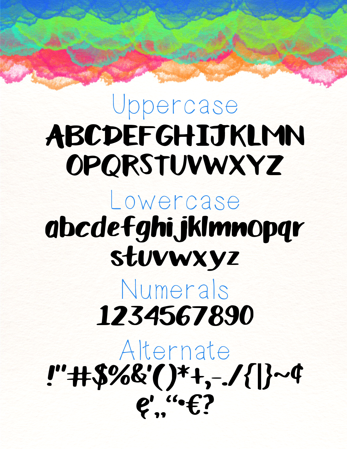Lily Pop a Handwritten Font example image 2