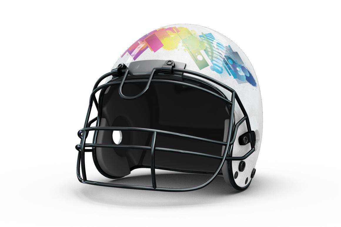 Football Helmet Mockup example image 5