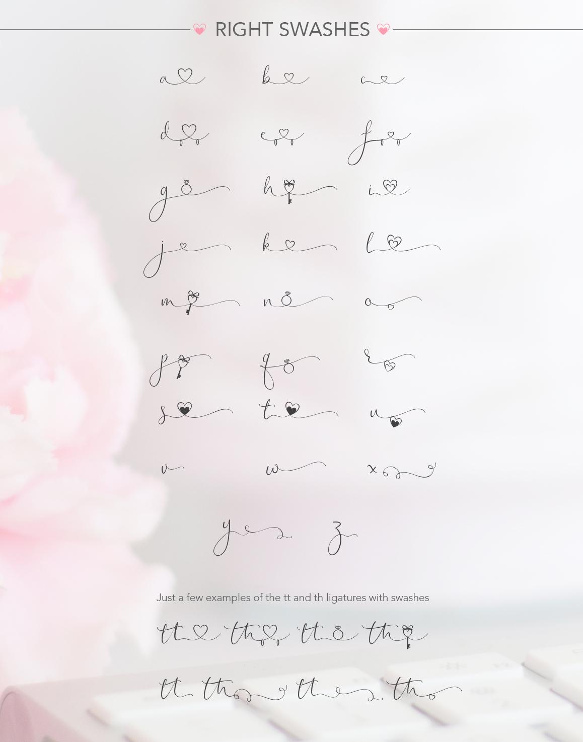 iHeart it wedding font example image 14