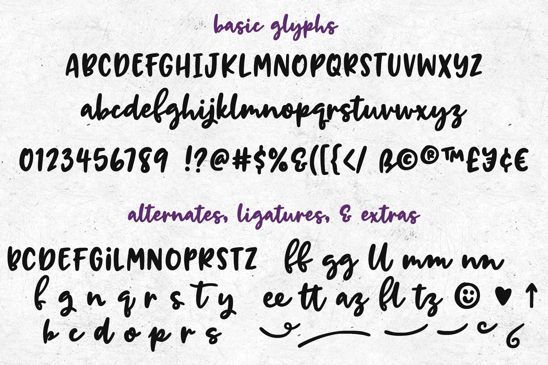 Breaking Bread - a chunky script font! example image 2