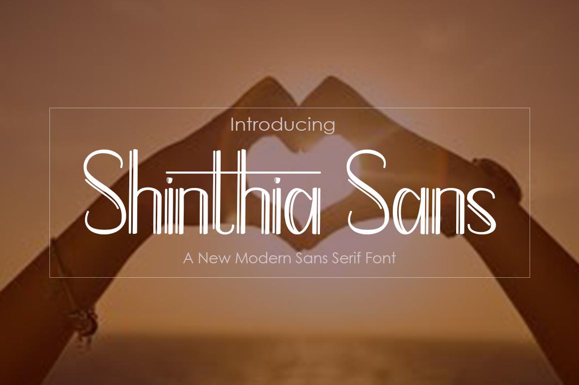 Shinthia Sans example image 1