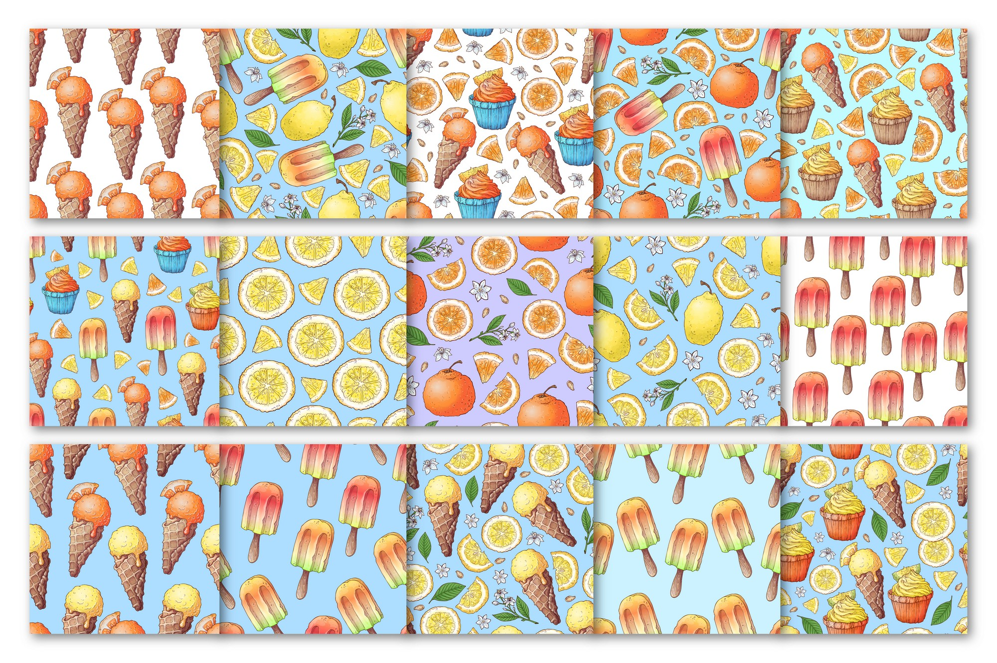 Citrus Sweets vector clip art example image 4