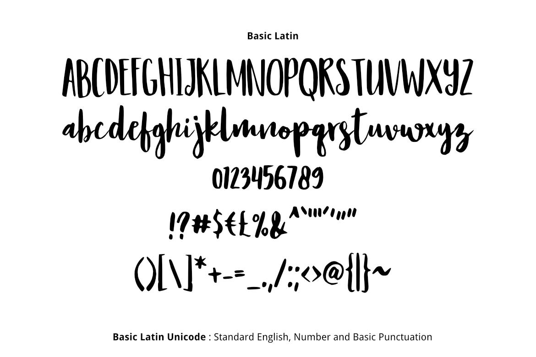 Resign Modern Brush Font example image 2