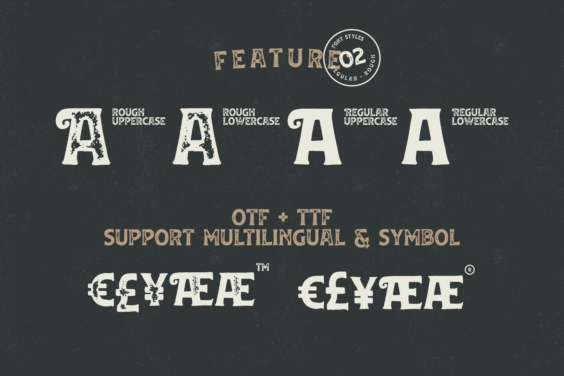 Huvet Typeface example image 7
