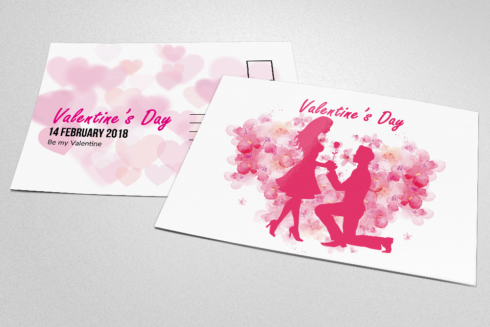 Valentine's Day Postcards example image 3