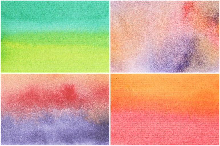 50 Watercolor Backgrounds 04 example image 14
