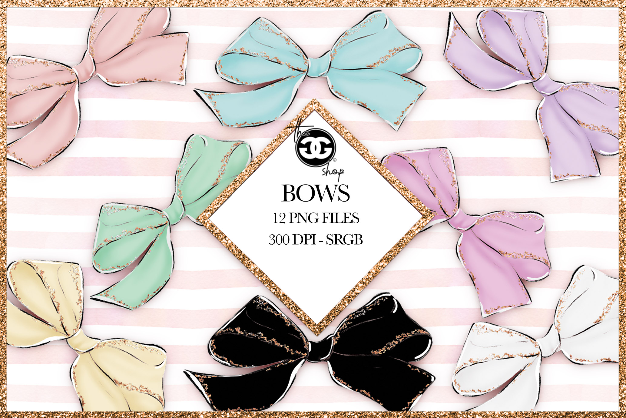Bows Png Cliparts example image 1