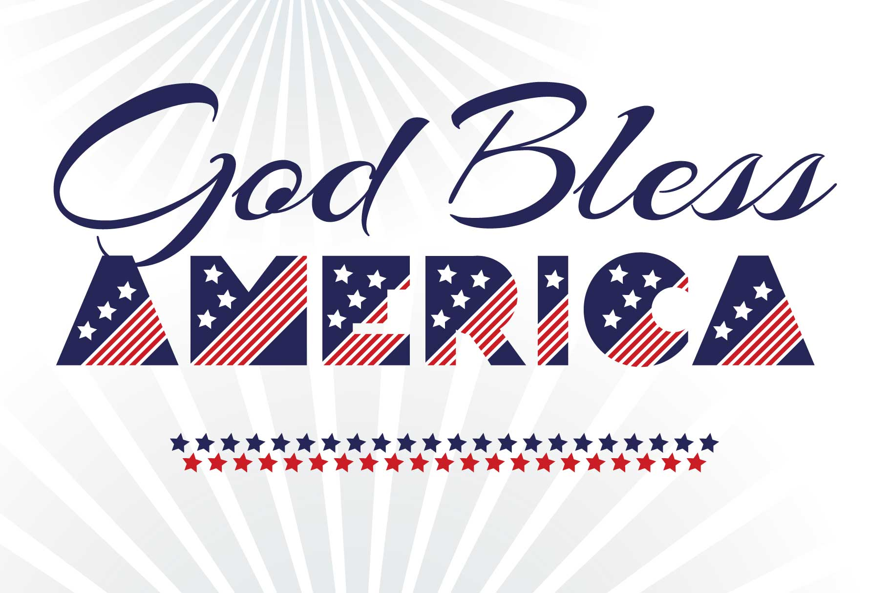 Patriot font family example image 8