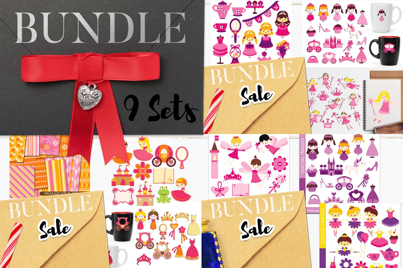 Just For Girls Clip Art Illustrations Huge Bundle example image 29