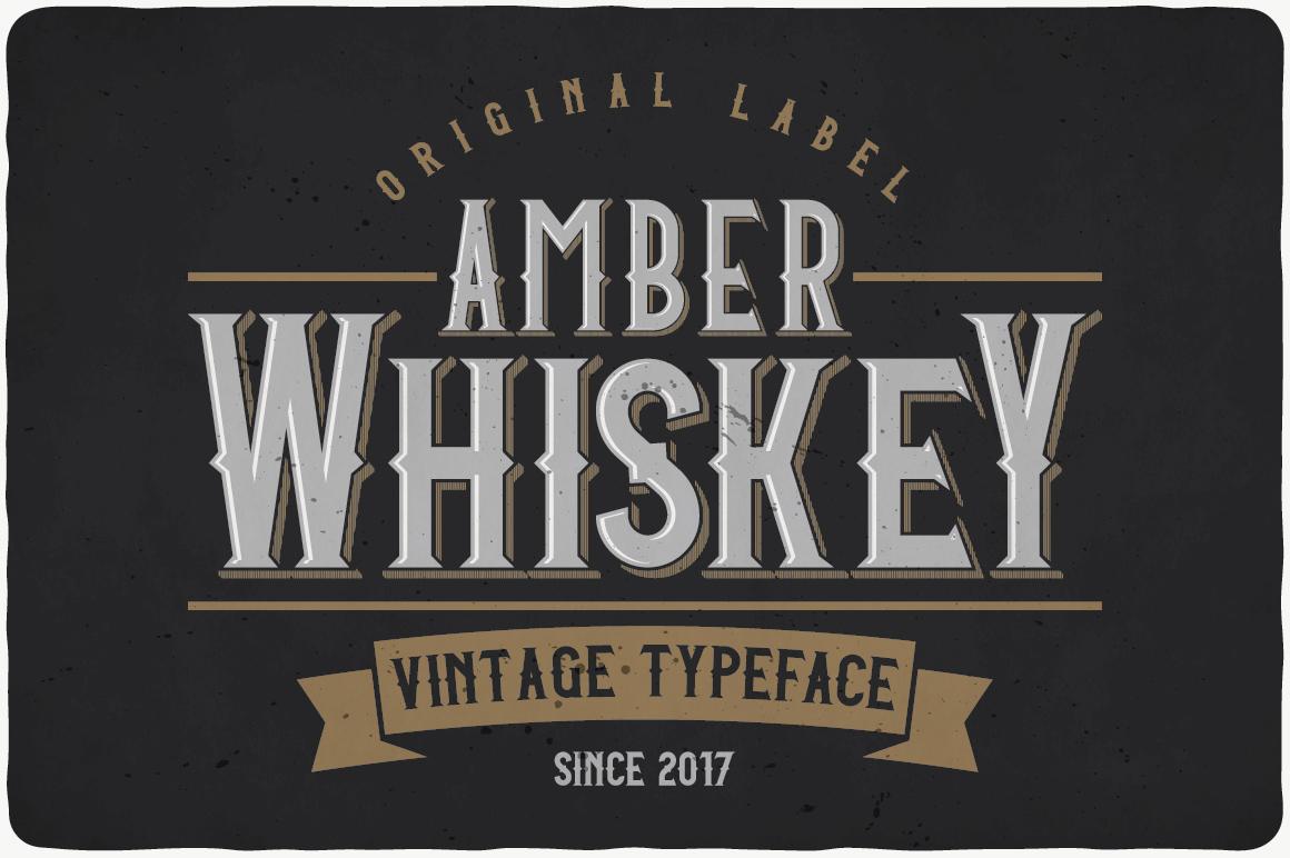 Whiskey Fonts Bundle example image 3