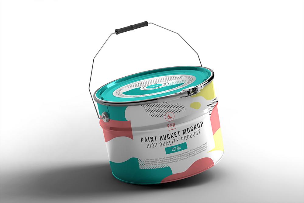 Paint Bucket Mockup example image 3