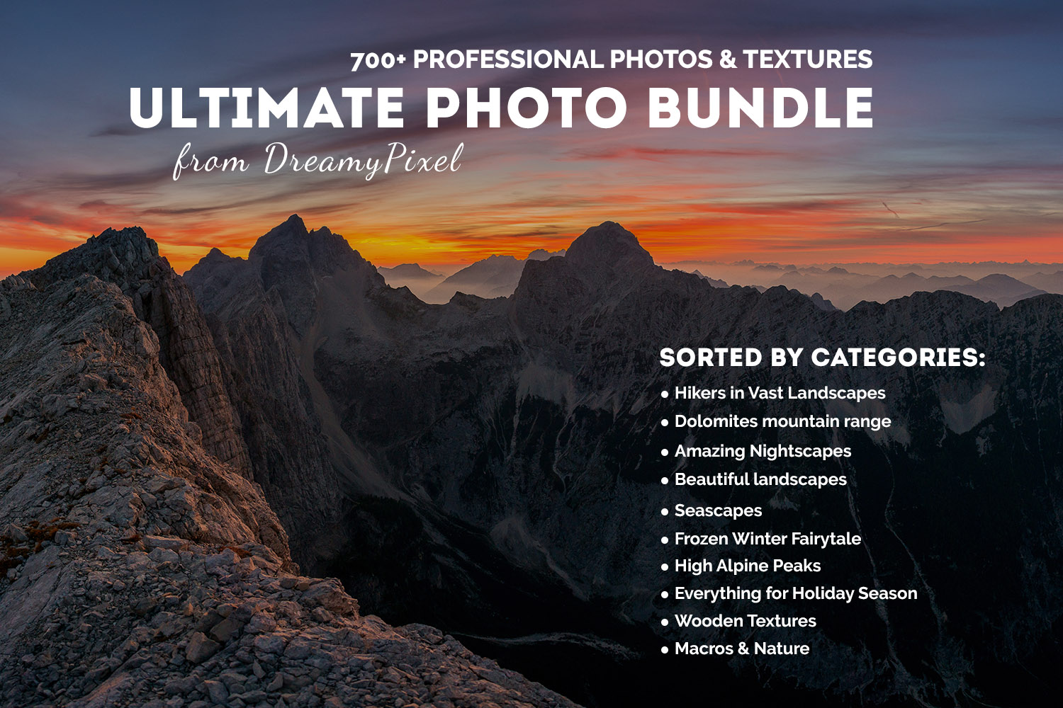 Ultimate Photo Bundle 2016 from DreamyPixel – 700+ Images example image 1