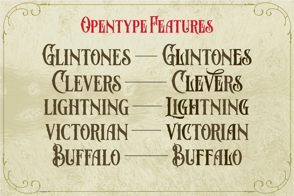Bloves Vintage Typeface example image 7