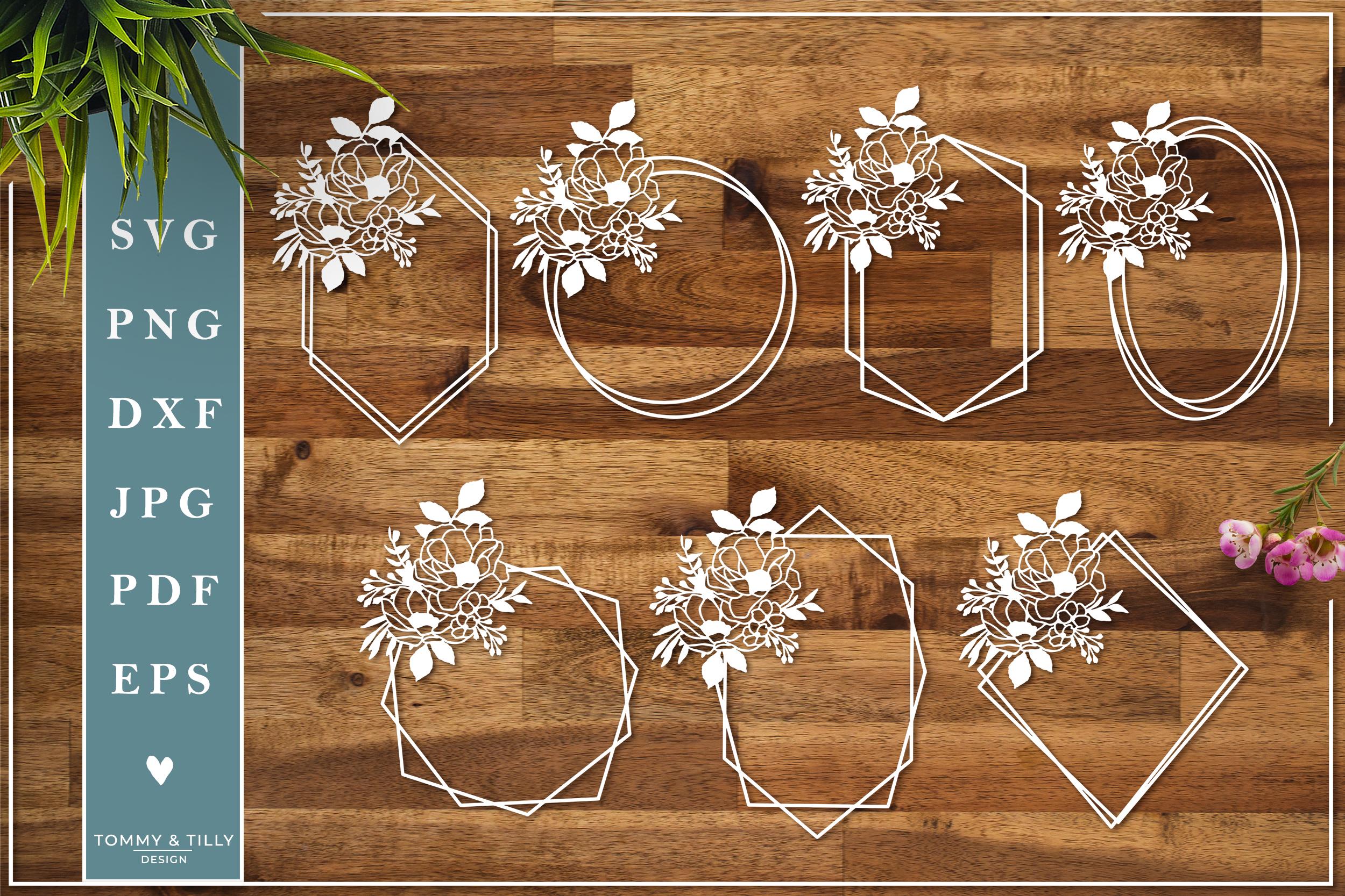 MEGA BUNDLE! Romantic Cut Files - SVG | Papercut example image 22