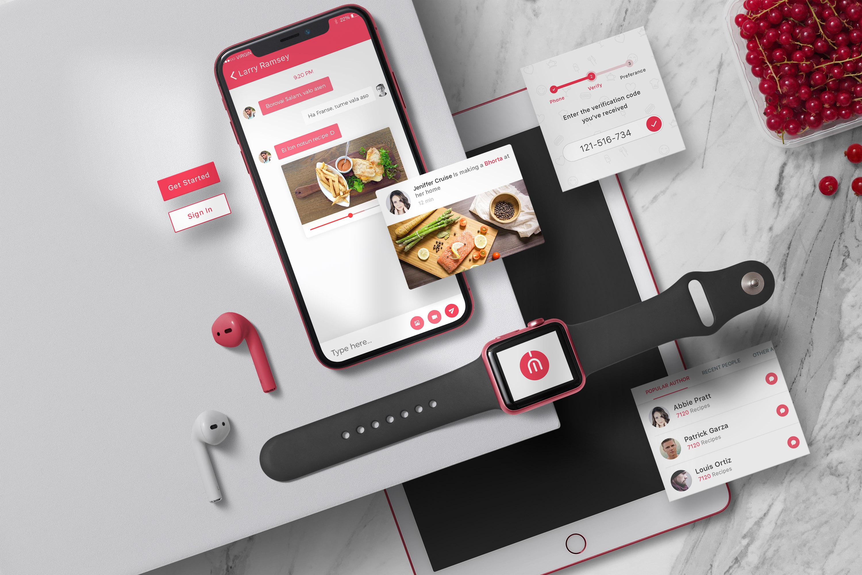 App / UI Kit Mockups example image 4