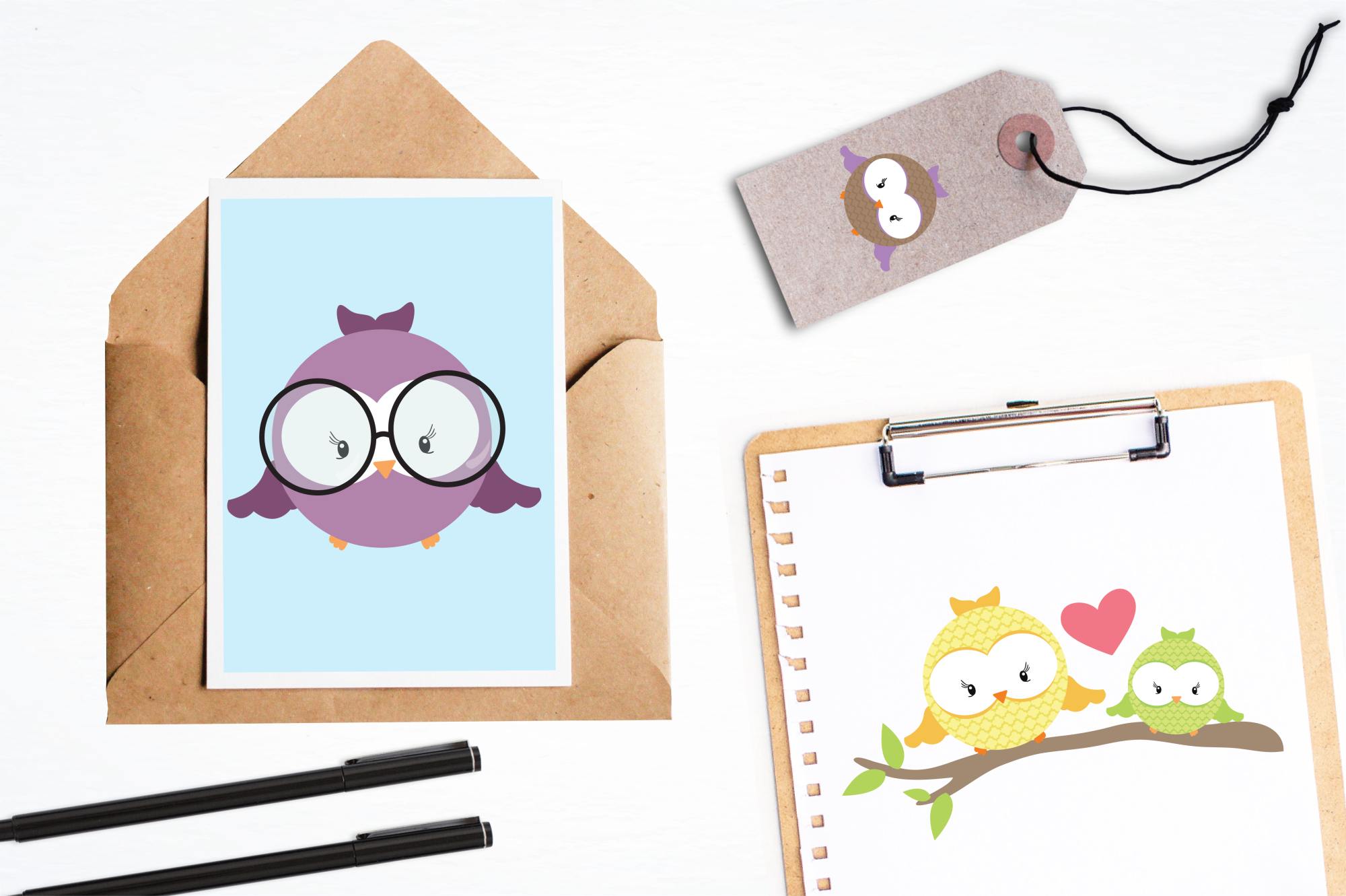 Hooties graphics and illustrations example image 4