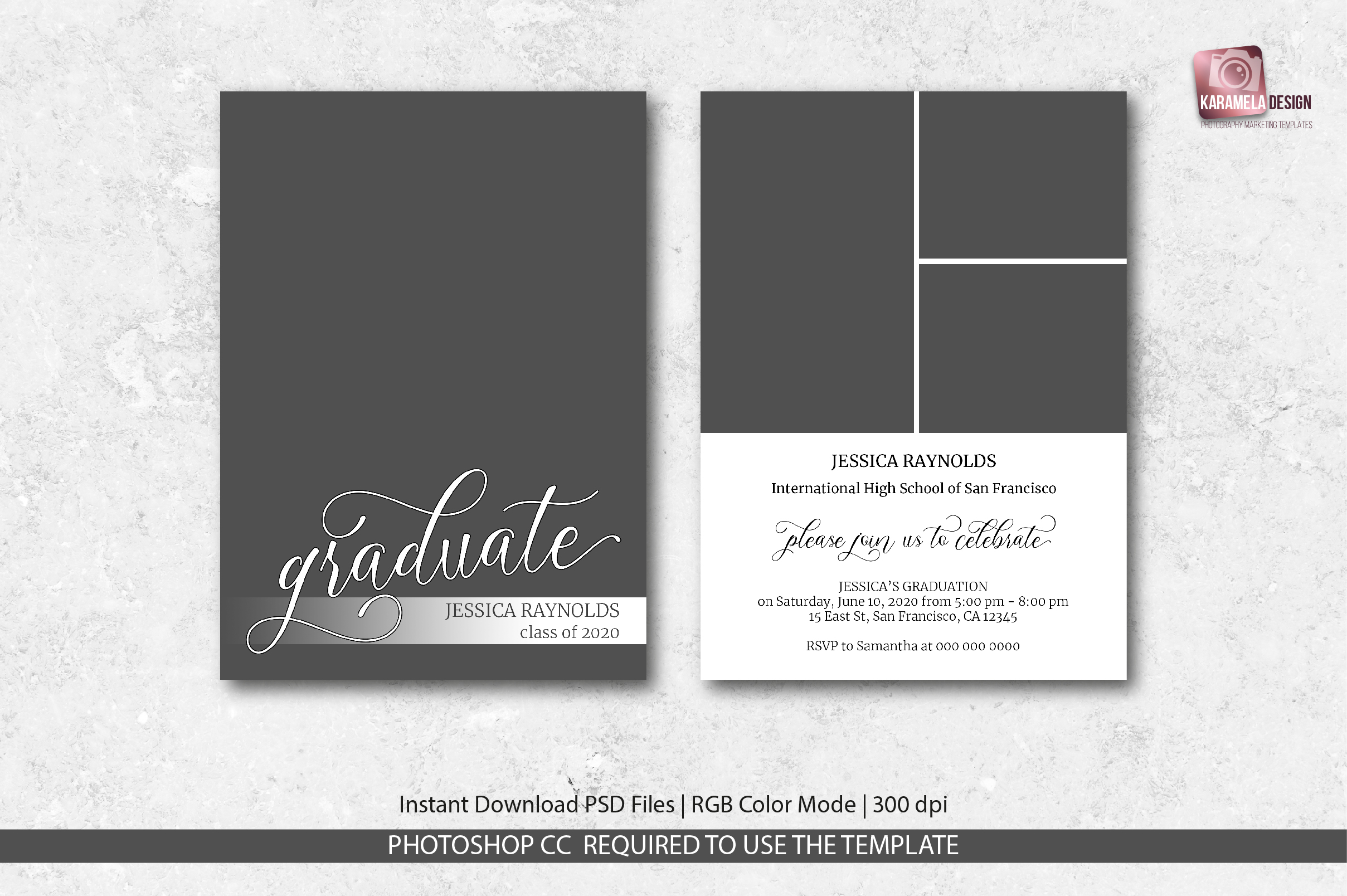 Graduation Announcement Template example image 4