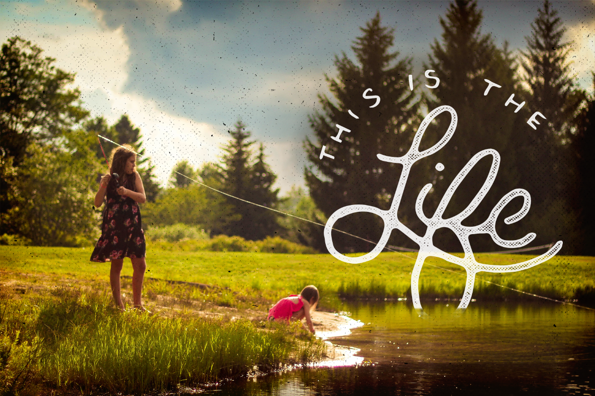 Lake Life Lettering Pack example image 3