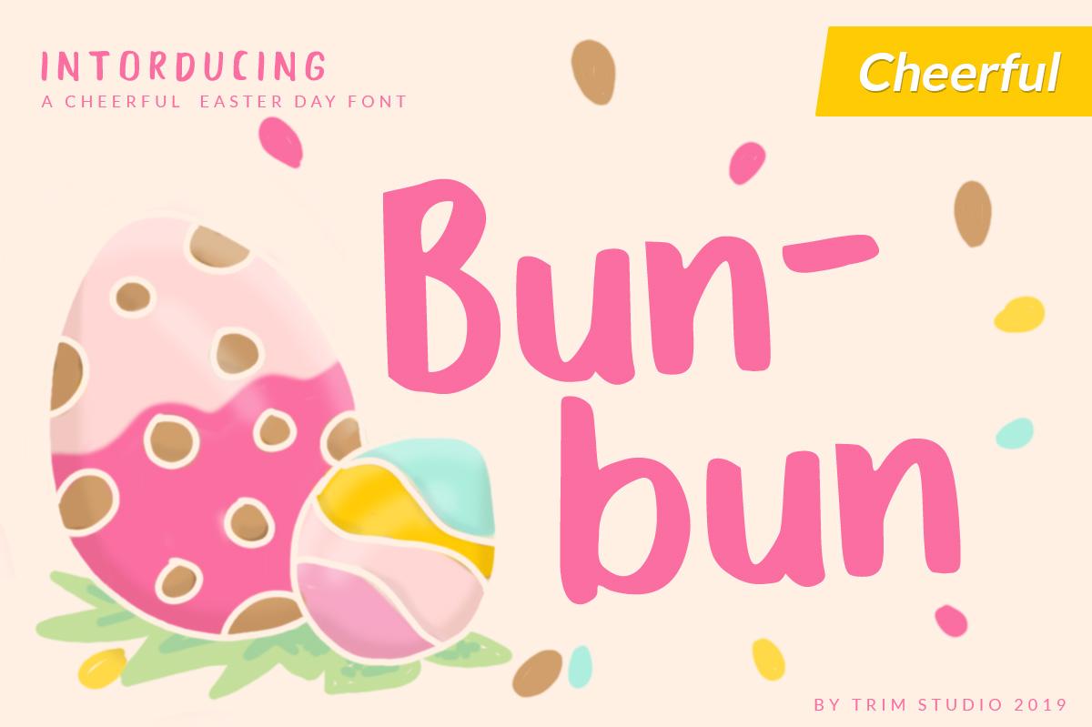 Bunbun - Holiday Font example image 2