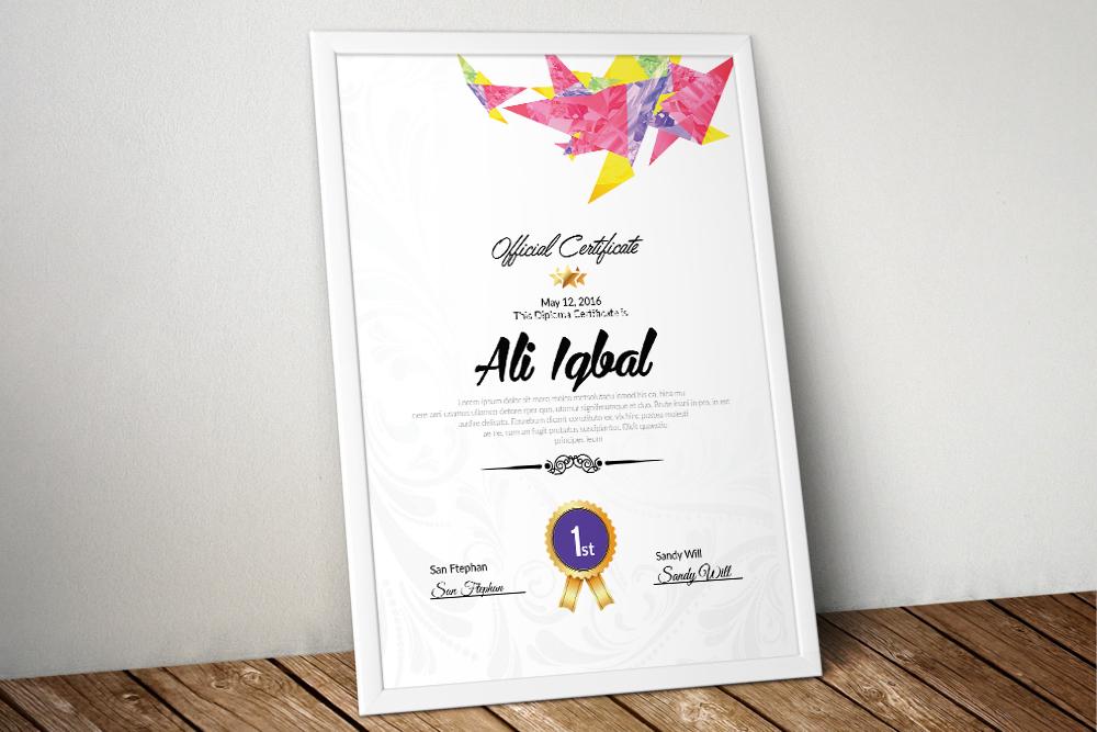 10 Certificates Template Bundle example image 2