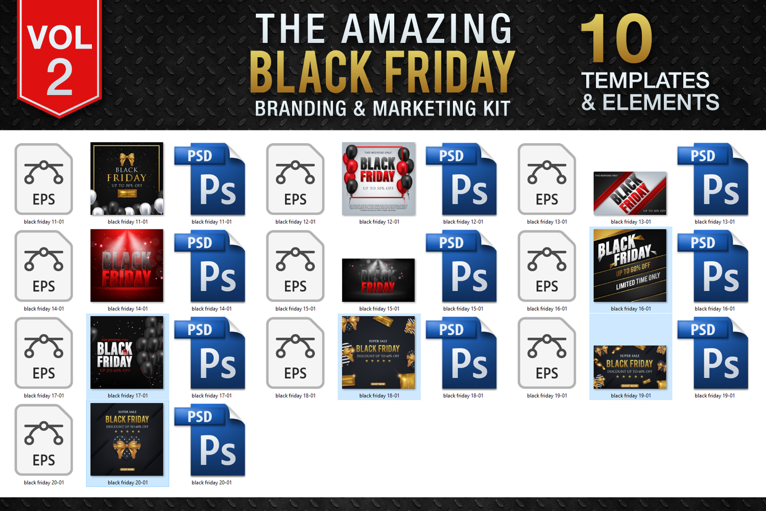 Black Friday Templates Vol 2 example image 4