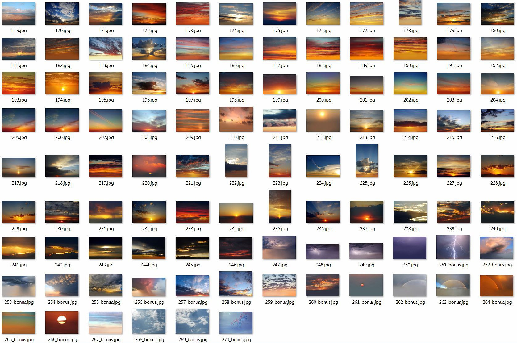 250 Sky Photo Overlays example image 2