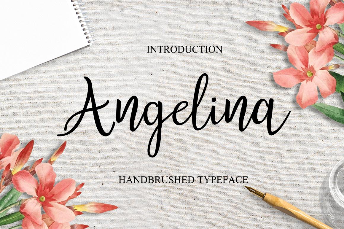 Modern Script Font Bundle example image 2