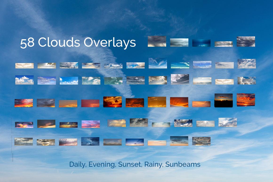 317 Sky Overlays BUNDLE example image 4