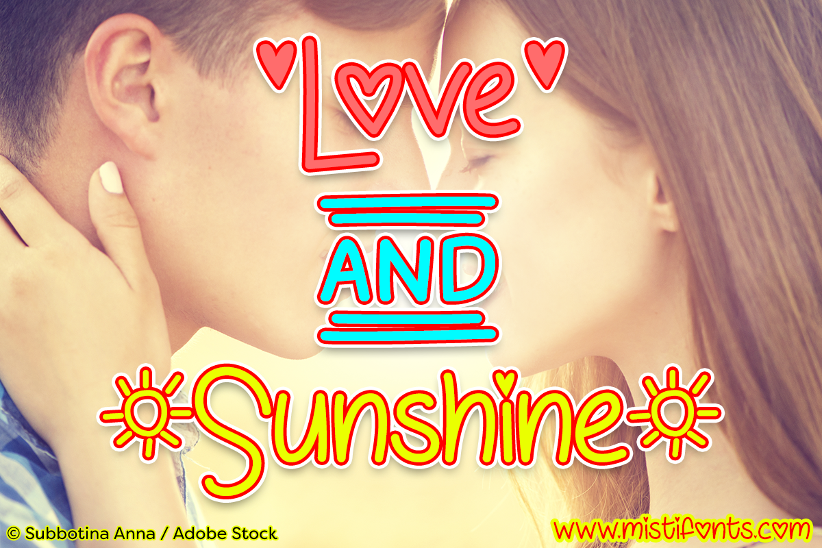 Love and Sunshine example image 1