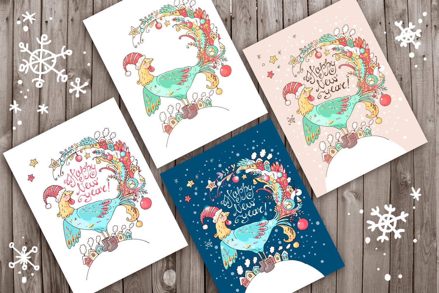 Winter Greeting Cards example image 3